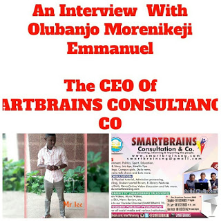 Interview: Meet Olubanjo Morenikeji (Mr Lee), The CEO of SMARTBRAINS Consultation & Co
