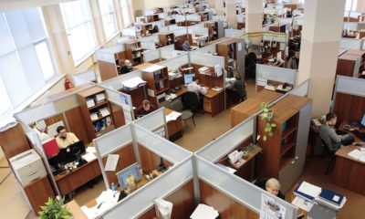Workplace clean office