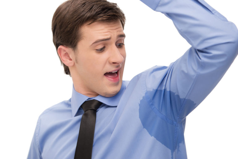 4 Ways To Solve The Health Problem Caused By Sweating